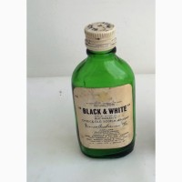 Винтажная коллекционная мини-бутылка 30мл (пустая) 1