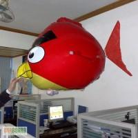 Летающий Angry Birds на радиоуправлении