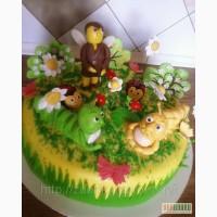 Детский торт Эрми и его друзья