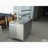 Продажа б/у линии раздачи из 5 элементов для столовой, фастфуда, общепита