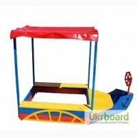 Детская Песочница-катер