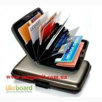 Алюминиевый кошелек для дисконтных карточек