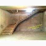 Профессиональная заливка железобетонных (Монолитных) лестниц. Бетонная лестница Киев
