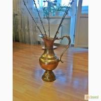 СРОЧНО Продам красивая напольная большая ваза из латуни