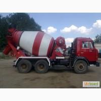 Доставка миксерами бетона, цементного раствора и др. по Харькову и области