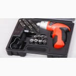 Шуруповерт аккумуляторный Cordless Screwdriver 45 предметов