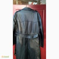 Продам мужское кожаное пальто на меху(цигейка)
