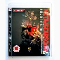Metal Gear Solid 4 Guns of the Patriots PS3 диск