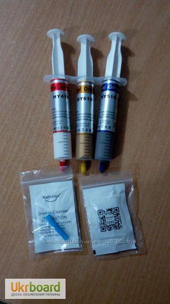 Фото 4. Карбоновая нано термопаста к процессорам, ноутбукам для улучшения термопроводимости контак