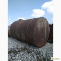 Цистерны, резервуары, ресивера, силоса и бункера, емкости и бочки металлические б/у любые