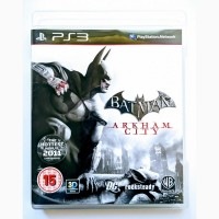 Batman Arkham City PS3 диск / РУС версия