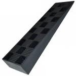 Клинья пластиковые 150х43х20 для установки окон, дверей, полов, лаг, лестниц
