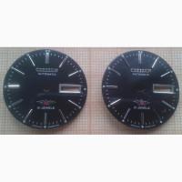 Циферблат на часы Citizen Automatic 7 - 21 jewel - чёрный, новый, 2 шт