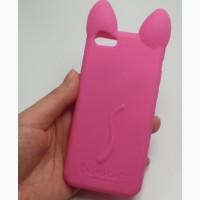 Силиконовый чехол айфон iphone 4 4s 5 5s 5ц 5c se 6 6s 6plus 7 7plus 8 8plus кот