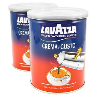 Кофе молотый Lavazza Crema e Gusto 250 г ж/б Лавацца Крема