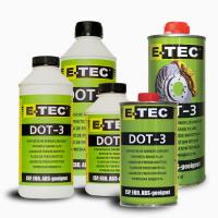 Тормозные жидкости E-TEC DOT3 DOT4