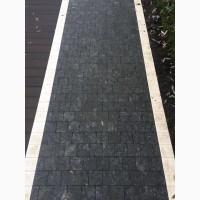 АКЦИЯ. Брусчатка из лабрадорита VOLGA BLUE 10х10х3 для пешеходной зоны