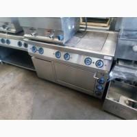 Б/у электрическая плита с духовкой для столовой Kogast 6 конфорок