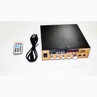 Усилитель UKC SN-003BT - Bluetooth, USB, SD, FM, MP3! 300W+300W Караоке 2х канальный