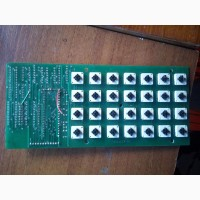 Плата с кнопками (28шт) систем контроля автоматизации