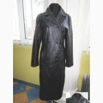Стильный женский кожаный плащ CLOCKHOUSE. Лот 315
