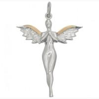 Женский кулон Ангел