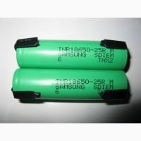 Аккумуляторы SAMSUNG INR18650-25RM (с никелевыми лентами для пайки)