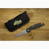 Складной нож Широгоров 111 (Реплика), сталь м390 + карбон, Green Thorn