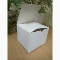 Самосборные коробки из светлого картона