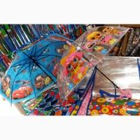 Детские зонты со свистком для девочек и мальчиков