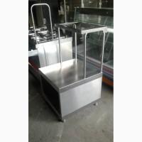 Прилавок для столовых приборов б/у, прилавок для подносов бу ПСП 70 к