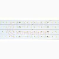 Комплект из 4-ех светодиодных линеек 28 Вт для замены ламп Т8 в растровых светильниках