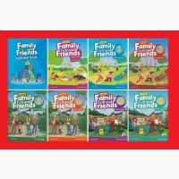 Продам комплект Family and Friends Starter 1, 2 3 4 5 6 учебник тетрадь