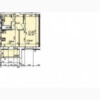 Продам однокомнатную квартиру в новострое на ХТЗ