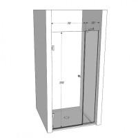 Стеклянные двери для душа TINETTO