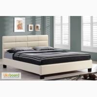 Новая двуспальная кровать на ламелях
