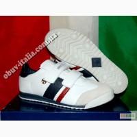 Кроссовки детские кожаные фирмы Sergio Tacchini оригинал Италия
