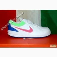 Кроссовки детские кожаные фирмы Nike Pico 4 оригинал 32-34