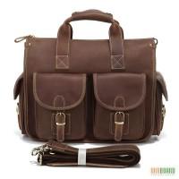Продается комфортная сумка с отделением для ноутбука из натуральной лошадиной кожи