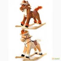 Интерактивная игрушка лошадка качалка