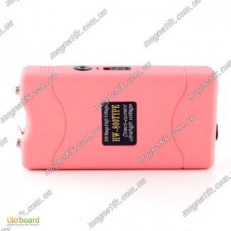 Электрошокер OCA 800 Touch Taser PINK розового цвета 2015 года