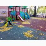 Резиновая плитка для детских площадок, травмобезопасная плитка для дорожек