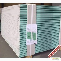 Гипсокартон потолочный стеновой влагостойкий knauf гкп 9, 5х1200 мм киев