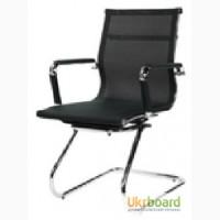 Офисное кресло конференционное Q-07CF, конференц-кресло Q07CF на полозьях для офиса