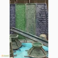 Формы стеклопластиковые для изготовления еврозаборов, столбов, тротуарных плит, оградок