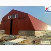 Строительство складов, ангаров, цехов