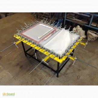 Натяжной станок, стол для натяжения ситоткани, Шелкография
