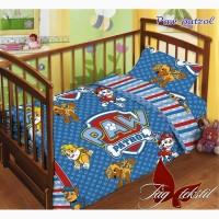 Комплект постельного белья детский в кроватку 100% хлопок