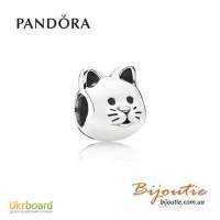 Оригинал PANDORA шарм кошка 791706