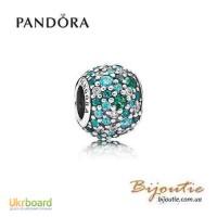 Оригинал шарм Pandora все краски океана 791261MCZMX